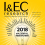 I&EC Research special issues showcasing papers from the 2018 Class of Influential Researchers.