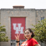 Lisette Montemayor, incoming freshman, is part of UH's newest Student Success Program funded by the NSF.
