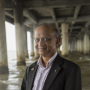 Cumaraswamy Vipulanandan, professor of civil and environmental engineering at the UH Cullen College of Engineering and director of the Texas Hurricane Center