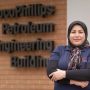 University of Houston Master's student Leila Zeinali has strived to continuing learning, first in her native Iran, then in Kansas and now at the Cullen College of Engineering.
