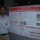 Sashank Kasiraju with his winning poster