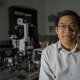 Shih in his lab at UH.