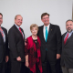 Russell Dunlavy, Dean Joseph W. Tedesco, Nancy Beyer, Honorable Joe Zimmerman, Trent Perez