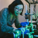 Yanan Wang, a post-doctoral researcher at UH, is co-first author on a paper describing the discovery of a new principle of optofluidics