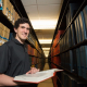 When he's not out in the world assisting those in need, Pietro Cicalese is usually in the M.D. Anderson library studying.