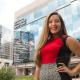 Industrial engineering student Amanda Herrera
