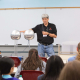Stuart Long, professor of electrical & computer engineering at the UH Cullen College, teaches a 2018 G.R.A.D.E. Camp workshop.