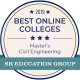 UH civil engineering program makes the 2019 Best Online Colleges list.