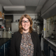 Megan Robertson, associate professor of chemical and biomolecular engineering, was honored with the 2018 Sparks-Thomas Award from the Rubber Division of the American Chemical Society