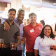 The Engineering Alumni Association holds its annual meeting and networking event at Saint Arnold Brewing Company in Houston on Aug. 22, 2019.