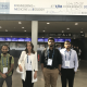 UH Cullen College Professor Rose Faghih with her students at the 2019 EMBC in Germany.