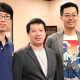 """Yanliang """"Leonard"""" Liang, left, Yan Yao and Zheng Fan are working on a $1 million project to better understand what causes solid-state lithium batteries to fail."""