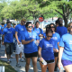 Some 140 people participated in the 2nd Annual Out of the Darkness Campus Walk held at the University of Houston on Saturday, April 16. The walk was sponsored by PROMES.