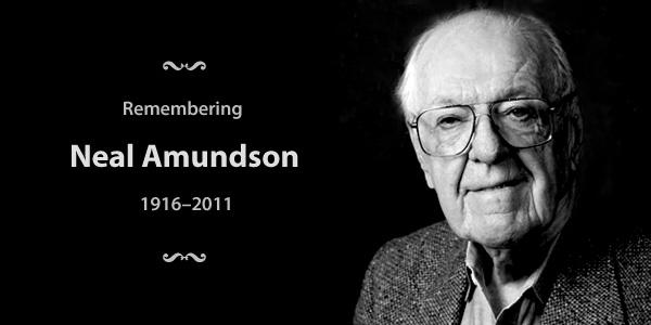Remembering Neal Amundson 1916-2011