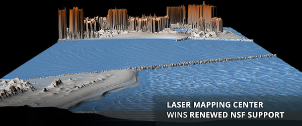 Laser Mapping Center Wins Renewed NSF Support