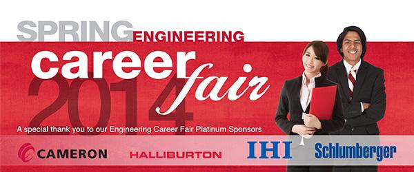 Engineering Career Fair Spring 2014