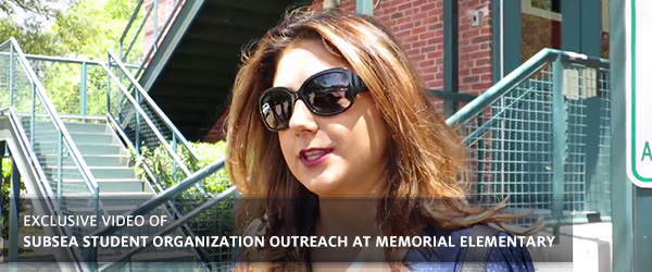 Exclusive Video of Subsea Student Organization Outreach at Memorial Elementary