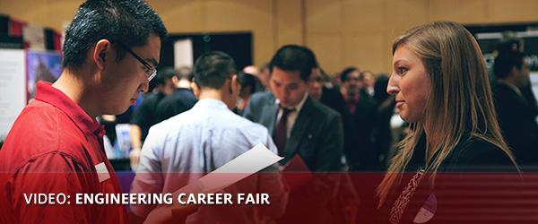 VIDEO: Engineering Career Fair