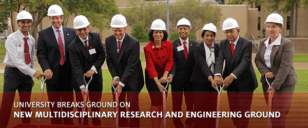 University Breaks Ground on New Multidisciplinary Research and Engineering Ground
