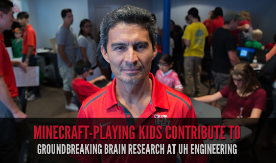 Minecraft-Playing Kids Contribute to Groundbreaking Brain Research at UH Engineering