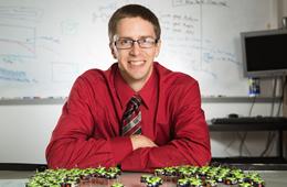 Engineer Earns NSF CAREER Award to Steer Swarm of Micro-robots