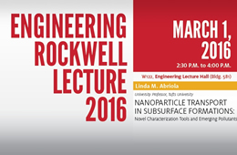 Upcoming Engineering Rockwell Lectures