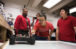 Students Steer Robotic Swarms in NASA Competition