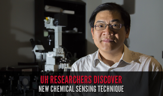 UH Researchers Discover New Chemical Sensing Technique