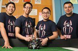 Cullen College Robotics Teams Place at IEEE Regional Robotics Competition
