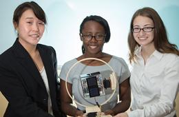 UH Female Engineers Help NASA's Small Satellites Complete Bigger Missions