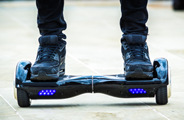 KHOU 11 News Interviews Professor About Exploding Hoverboards