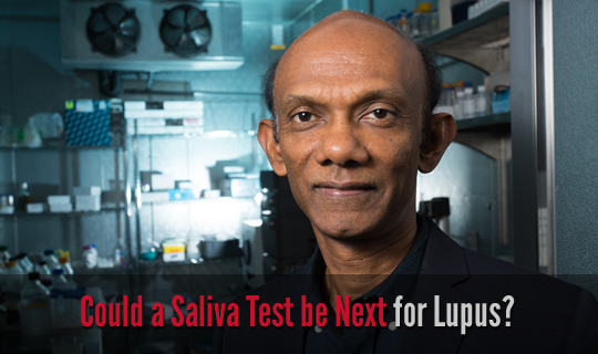 Could a Saliva Test be Next for Lupus?