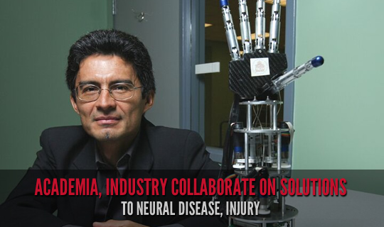 Academia, Industry Collaborate on Solutions to Neural Disease, Injury