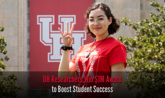 UH Researchers Win $1M Award to Boost Student Success