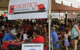 The UH Cullen College of Engineering hosted it's 30th annual Offshore Industry Crawfish Boil on Sunday, May 5.