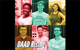 Meet the 2019 UH DAAD-RISE scholars. They are heading to Germany for internships at research institutes this summer.
