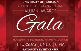 Meet the UH Cullen College of Engineering 2019 EAA Gala Honorees.