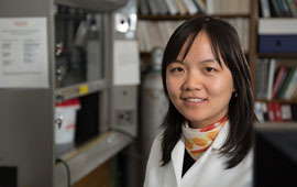 Yandi Hu, Cullen College assistant professor of civil and environmental engineering, led a team of researchers in developing a better understanding of the presence of strontium-rich barite in seawater.