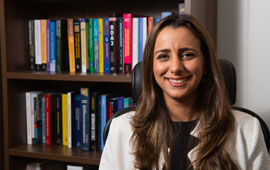 Rose T. Faghih, assistant professor of electrical engineering at the UH Cullen College of Engineering, is reporting that a closed-loop brain stimulator, based on sweat response, can be developed for PTSD and an array of neuropsychiatric disorders.
