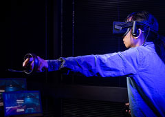 UH ECE Engineer Enhances Mobile Virtual Reality/Augmented User Experience