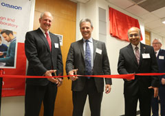UH ECE Department Gifted State-Of-The-Art Senior Design and Robotics Laboratory Space From Omron Corporation